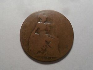 1913 NICE GREAT BRITAIN BZ HALF PENNY MINTAGE 17 476 480 OLD ENGLISH COLLECTION
