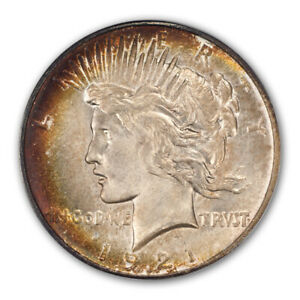 Click now to see the BUY IT NOW Price! 1921 $1 PEACE DOLLAR   TYPE 1 HIGH RELIEF PCGS MS66