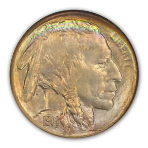 Click now to see the BUY IT NOW Price! 1914 S BUFFALO NICKEL TYPE 2 5C NGC MS68