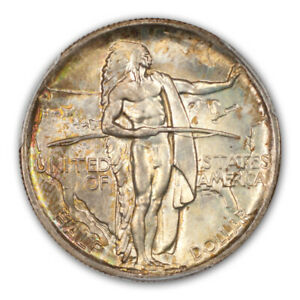 Click now to see the BUY IT NOW Price! OREGON 1936 50C SILVER COMMEMORATIVE PCGS MS68