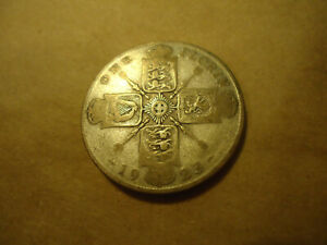 1923 FLORIN ENGLISH COIN      CIRCULATED     >> SHIPS RIGHT HERE IN THE USA <<
