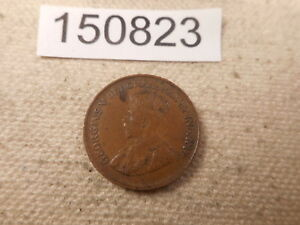 1936 CANADA ONE CENT   NICE RAW UNSLABBED COLLECTOR GRADE ALBUM COIN    150823