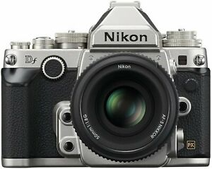 NIKON DF 16.2 MP CMOS FX FORMAT DIGITAL SLR CAMERA  AF S NIKKOR 50MM F/1.8G SPEC