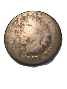 1867 INDIAN HEAD CENT PENNY   SEE DETAILS