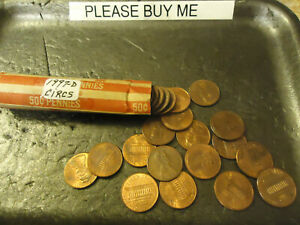 1997 D LINCOLN CENT ROLL      CIRCULATED                >> C/S & H <<