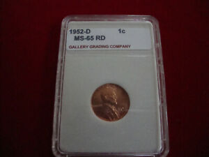 1952 D LINCOLN CENT 65 RD