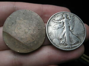 1851 BRAIDED HAIR LARGE CENT PENNY  LARGER THAN A HALF DOLLAR