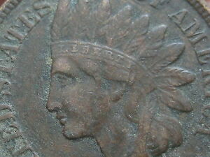 1907 INDIAN HEAD CENT PENNY VF/XF DETAILS LIBERTY DIAMONDS