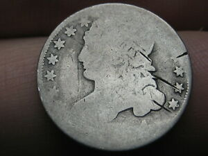 1834 SILVER CAPPED BUST DIME  OLD TYPE COIN