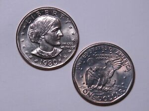 1980 S SUSAN B ANTHONY DOLLAR   UNCIRCULATED SBA