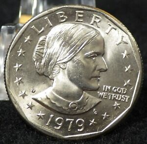 1979 D SUSAN B. ANTHONY DOLLAR CHOICE BU FROM A MINT SET