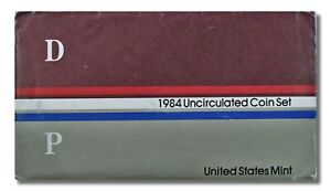 1984 U.S. MINT SET P&D IN ORIGINAL ENVELOPE