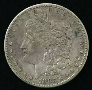 1883 SAN FRANCISCO MORGAN SILVER DOLLAR UNITED STATES BETTER DATE COIN CO524
