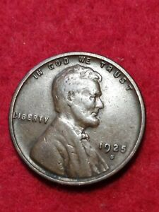 1925 S SAN FRANCISCO MINT LINCOLN WHEAT CENT 23