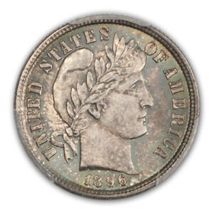 Click now to see the BUY IT NOW Price! 1896 10C BARBER DIME PCGS MS67