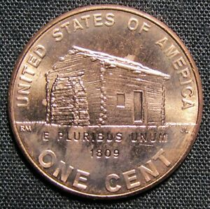 2009 D US LINCOLN EARLY CHILDHOOD LOG CABIN CENT COIN