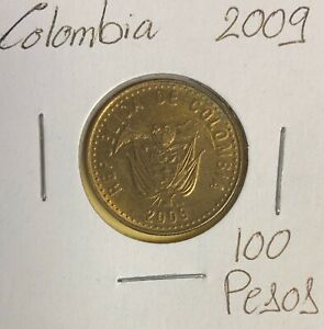 COLOMBIA 100 PESOS 2009  COMBINED SHIPPING   C254