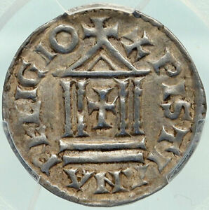 Click now to see the BUY IT NOW Price! FRANCE CAROLINGIAN LOUIS THE PIOUS SON OF CHARLEMAGNE FRENCH COIN PCGS I85142