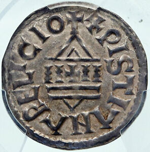 Click now to see the BUY IT NOW Price! FRANCE CAROLINGIAN LOUIS THE PIOUS SON OF CHARLEMAGNE FRENCH COIN PCGS I85220