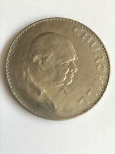 1965 CROWN COIN   THE DEATH OF SIR WINSTON CHURCHILL. UNCIRCULATED