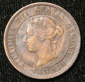 1896 CANADA 1 CENT   PRICED RIGHT