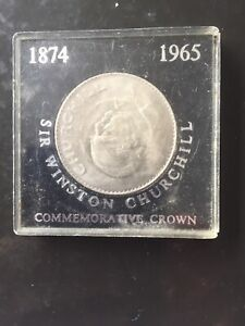 1965 CHURCHILL CROWN IN BLACK UNBRANDED CASE