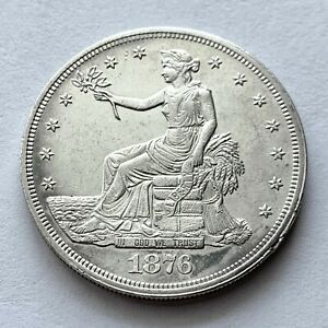 1876 TRADE SILVER DOLLAR | HIGHLY SOUGHT AFTER SERIES