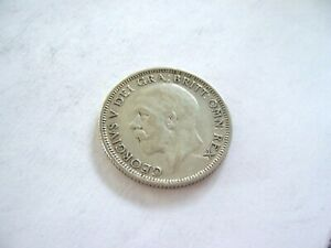 UNITED KINGDOM 1932 ONE SHILLING SILVER GEORGE V