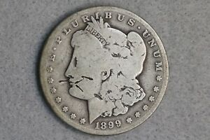1899 S $1 MORGAN SILVER DOLLAR EARLY US TYPE COIN