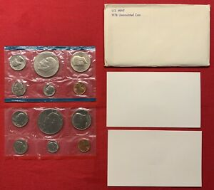 1976 P & D UNITED STATES MINT UNCIRCULATED COIN SET W/ENVELOPE