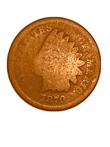 1870 INDIAN HEAD SMALL CENT  DATE G   3050