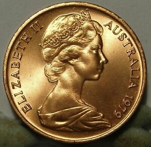 1979 1C CENT CHOICE UNCIRCULATED MINT ROLL COIN