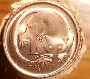 1980 1C CENT CHOICE UNCIRCULATED MINT ROLL COIN