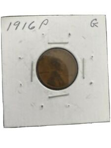 1916 P LINCOLN PENNY