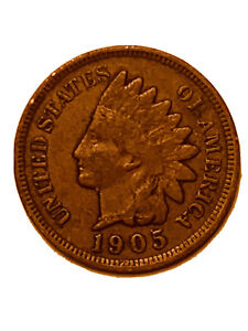 1905 P INDIAN HEAD CENT / PENNY   GOOD OR BETTER        3088