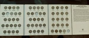 NEARLY COMPLETE SET OF BUFFALO NICKELS  1913 1938