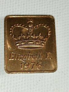 1976 ROYAL MINT PROOF YEAR MEDALLION MEDAL TOKEN   ELIZABETH II