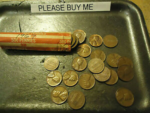 1967 ROLL OF CENTS       CIRCS              >> C/S & H AVAILABLE <<