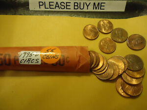 1995 D LINCOLN CENT ROLL            >> S & H   C/S <<
