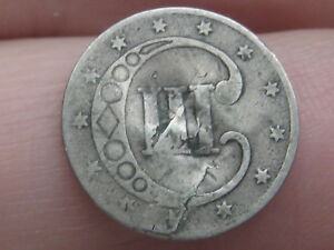 1853 THREE 3 CENT SILVER TRIME  FULL DATE