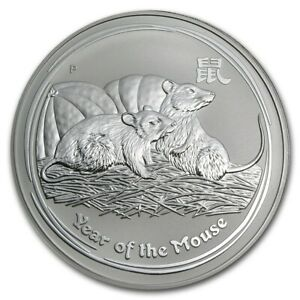 Click now to see the BUY IT NOW Price! 2 OZ 2008 PERTH LUNAR MOUSE SILVER COIN