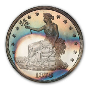 Click now to see the BUY IT NOW Price! 1878 T$1 TRADE DOLLAR PCGS PR67 CAM  CAC