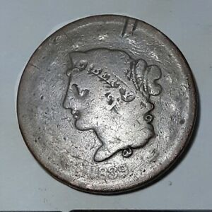 1839 LARGE CENT  BOOBY HEAD