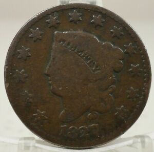 1827 UNITED STATES LARGE CENT 68562 014 BIN