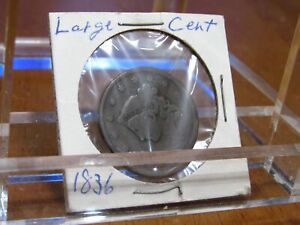 UNITED STATES 1836 CORONET LIBERTY HEAD LARGE CENT