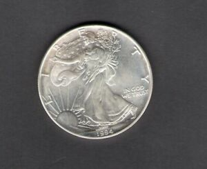 1994 UNITED STATES USA ONE DOLLAR LIBERTY  EAGLE  SILVER FDC