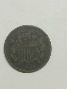 1866 TWO CENT     SEE THE PICS