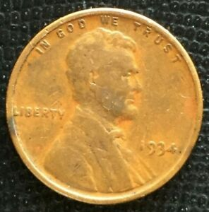 1934 P LINCOLN CENT