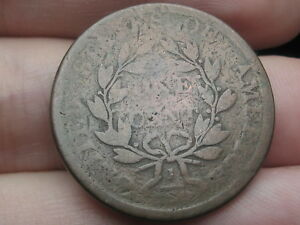 1796 1807 DRAPED BUST LARGE CENT PENNY  WITH STEMS