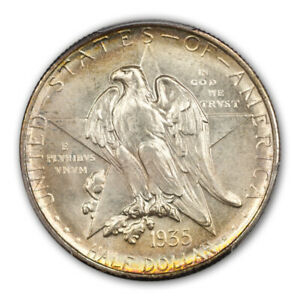 Click now to see the BUY IT NOW Price! TEXAS 1935 S 50C SILVER COMMEMORATIVE PCGS MS67   CAC